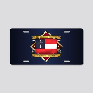 5 KY Inf Aluminum License Plate