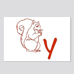 Squirrely Postcards (Package of 8)