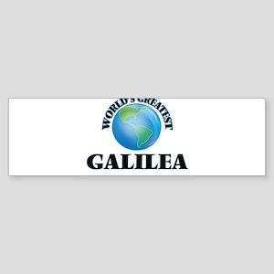 World's Greatest Galilea Bumper Sticker