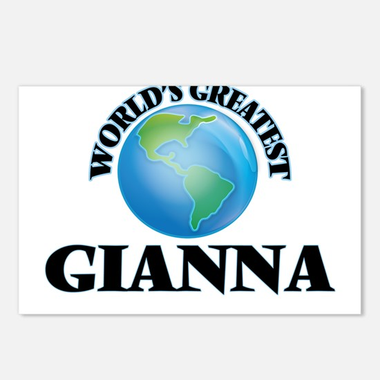 World's Greatest Gianna Postcards (Package of 8)