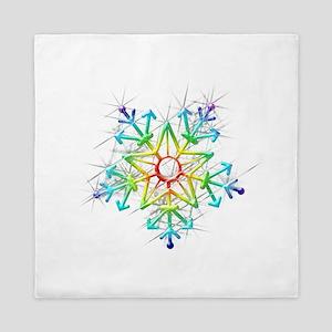 Snowflake Star Queen Duvet