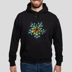 Snowflake Star Hoodie