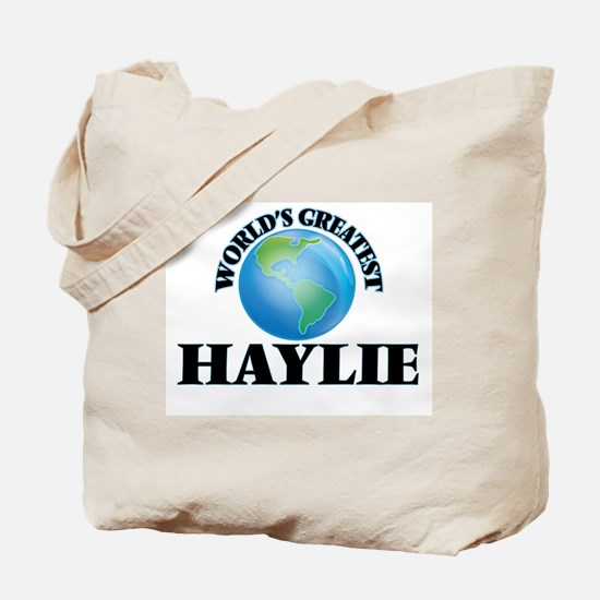 World's Greatest Haylie Tote Bag