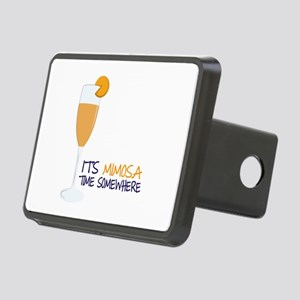 Mimosa Time Hitch Cover