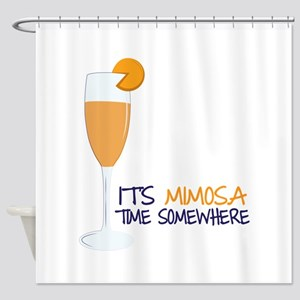 Mimosa Time Shower Curtain