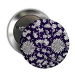 """Abstract Whimsical Flowers 2.25"""" Button (10 pack)"""