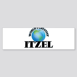 World's Greatest Itzel Bumper Sticker
