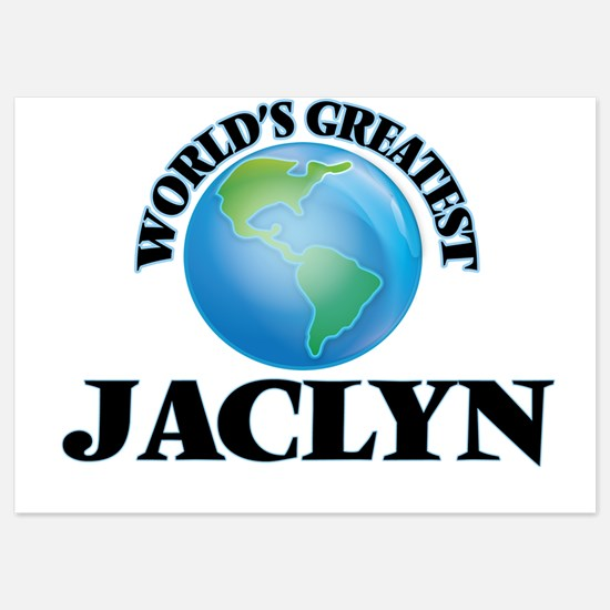 World's Greatest Jaclyn Invitations