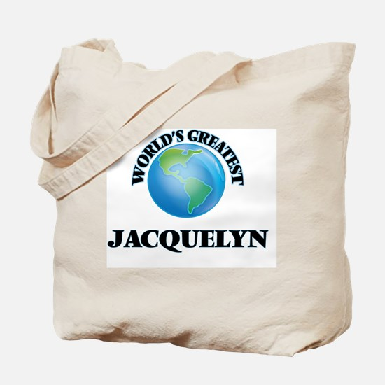 World's Greatest Jacquelyn Tote Bag