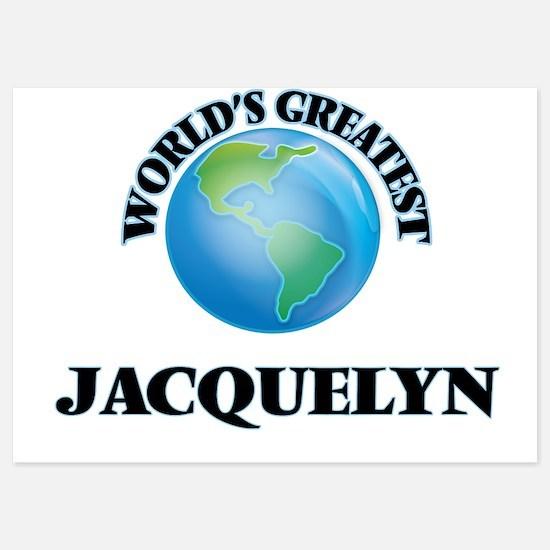 World's Greatest Jacquelyn Invitations