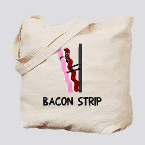 Bacon Strip Tote Bag