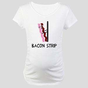 Bacon Strip Maternity T-Shirt