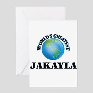 World's Greatest Jakayla Greeting Cards