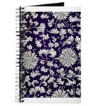 Abstract Whimsical Flowers Journal