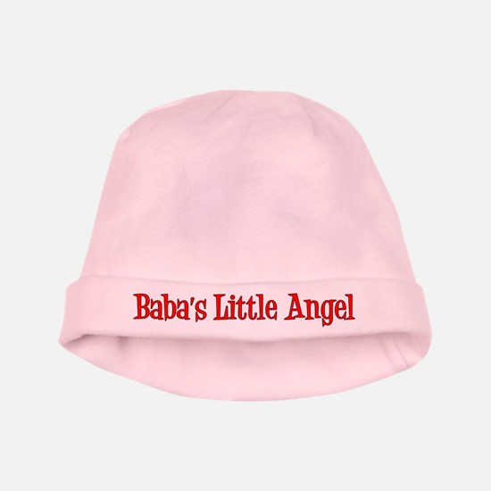 Baba's Little Angel Baby Hat