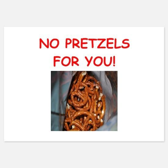 pretzel Invitations
