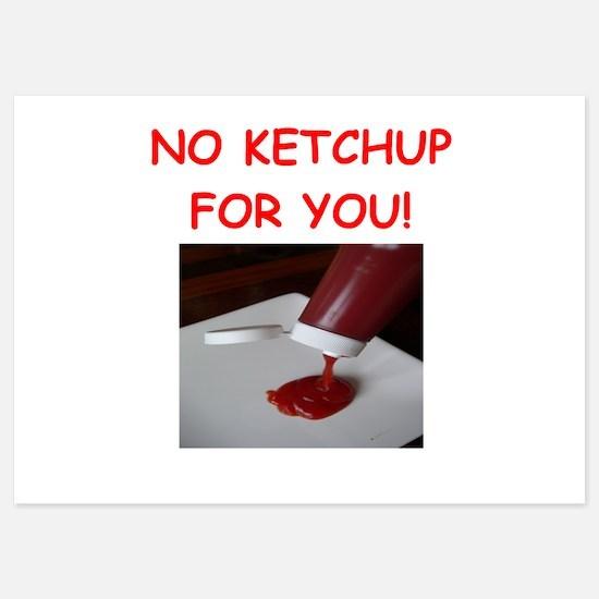 ketchup Invitations