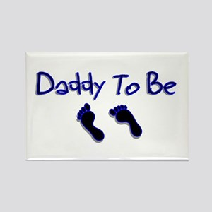 Daddy To Be Rectangle Magnet