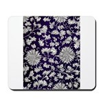Abstract Whimsical Flowers Mousepad