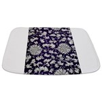 Abstract Whimsical Flowers Bathmat