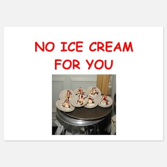 ice cream Invitations