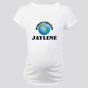 World's Greatest Jaylene Maternity T-Shirt