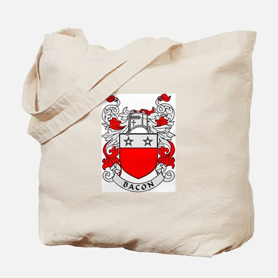 BACON 2 Coat of Arms Tote Bag