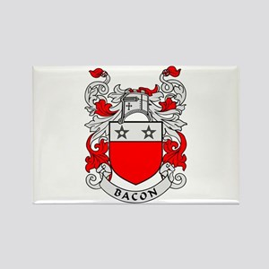 BACON 2 Coat of Arms Rectangle Magnet