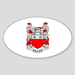 BACON 2 Coat of Arms Oval Sticker