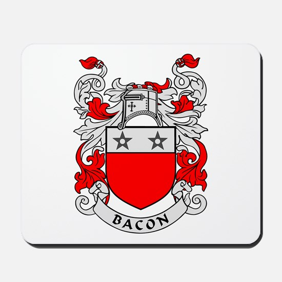 BACON 2 Coat of Arms Mousepad