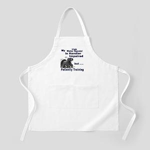 Irish Water Spaniel Agility BBQ Apron