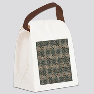 Patterned Canvas Lunch Bag