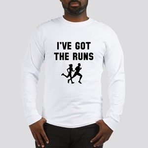 I've got the runs Long Sleeve T-Shirt