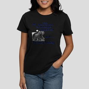 Irish Water Spaniel Agility Women's Dark T-Shirt