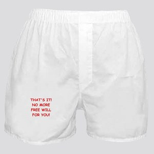 free will Boxer Shorts