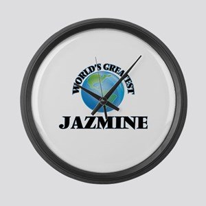 World's Greatest Jazmine Large Wall Clock