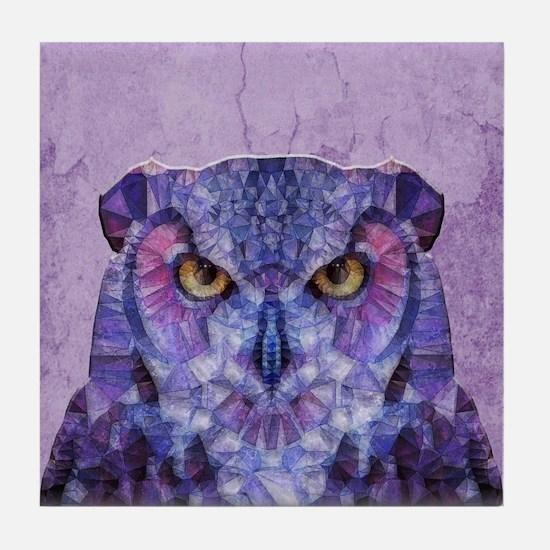 Cute Abstract animal Tile Coaster