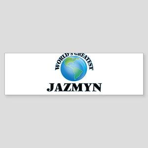 World's Greatest Jazmyn Bumper Sticker