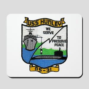USS HUNLEY Mousepad