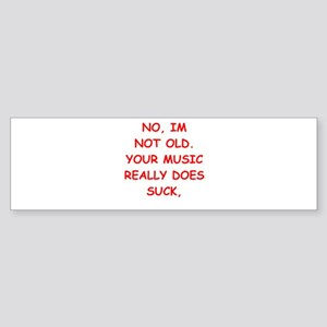 music Sticker (Bumper)