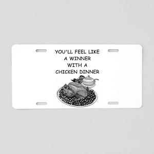 chicken Aluminum License Plate