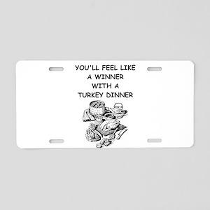 turkey Aluminum License Plate