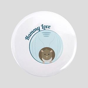 """Hammy Love 3.5"""" Button"""