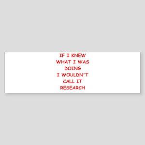 research Sticker (Bumper)