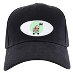 Pirate Baby Black Cap
