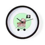Pirate Baby Wall Clock