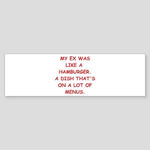 DIVORCE Sticker (Bumper)