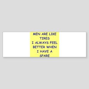 men Sticker (Bumper)