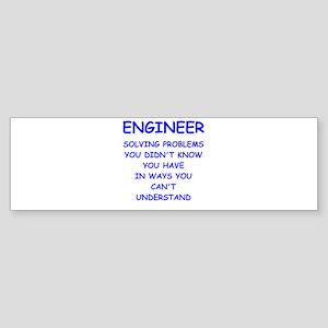 ENGINEER Sticker (Bumper)