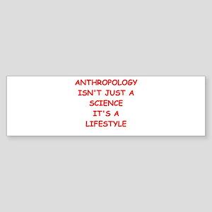 anthropology Sticker (Bumper)